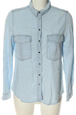 MNG Jeans Camisa vaquera azul estilo «business»