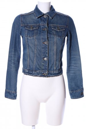 MNG Jeans Jeansjacke blau Casual-Look