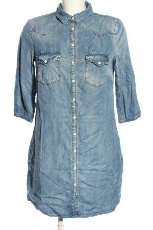MNG Jeans Robe en jean bleu style décontracté
