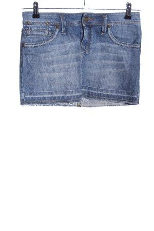 MNG Jeans Jeansrock blau Casual-Look