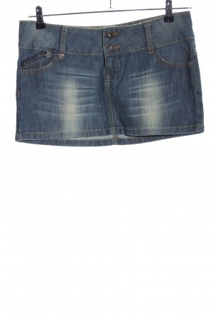 MNG Jeans Denim Skirt blue casual look