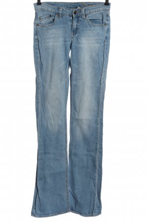 MNG Jeans Jeansschlaghose blau Casual-Look