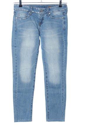 MNG Jeans Karottenjeans blau Casual-Look
