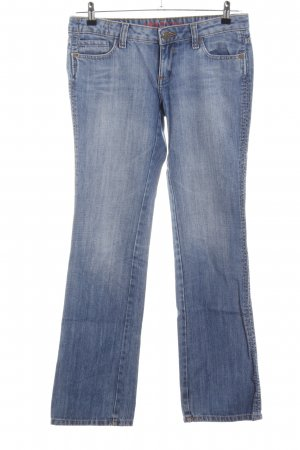 MNG Jeans Straight-Leg Jeans blau Casual-Look