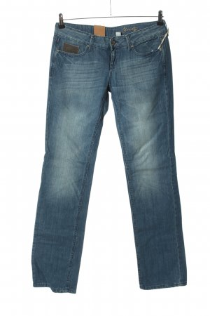 MNG Jeans Straight Leg Jeans blue casual look