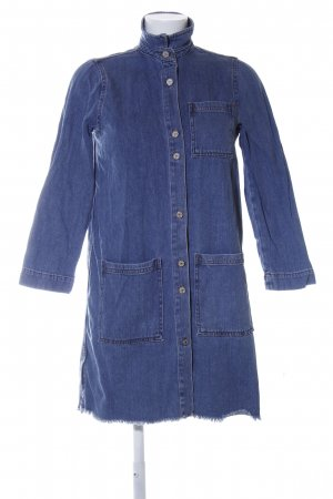 MNG Jeansbluse blau Casual-Look