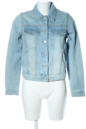 MNG Jeansjacke blau Casual-Look