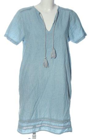 MNG Jeanskleid blau meliert Casual-Look