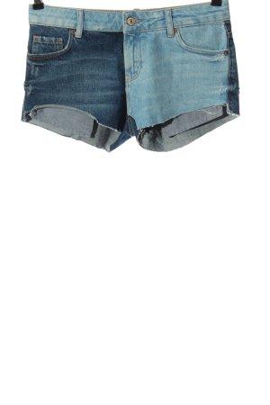 MNG Jeansowe szorty niebieski W stylu casual