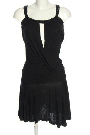 MNG Jerseykleid schwarz Casual-Look