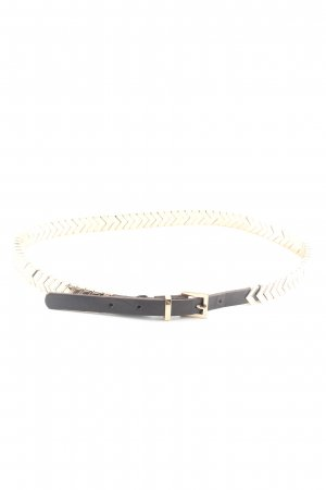 MNG Chain Belt gold-colored-black casual look