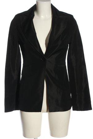 MNG Klassischer Blazer schwarz Casual-Look