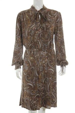 MNG Kleid abstraktes Muster Gypsy-Look