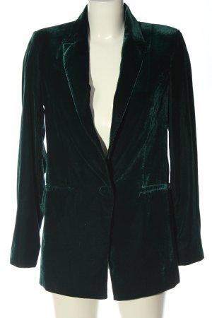 MNG Kurz-Blazer grün Business-Look