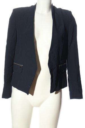 MNG Kurz-Blazer blau Casual-Look