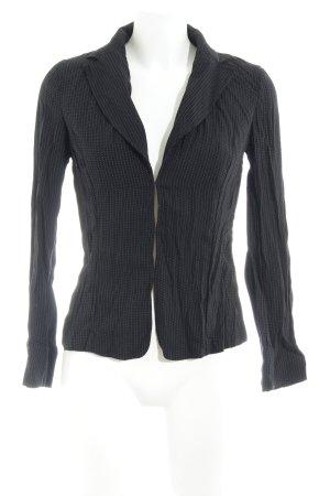MNG Kurz-Blazer schwarz-weiß schlichter Stil