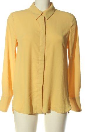 MNG Langarmhemd blassgelb Elegant