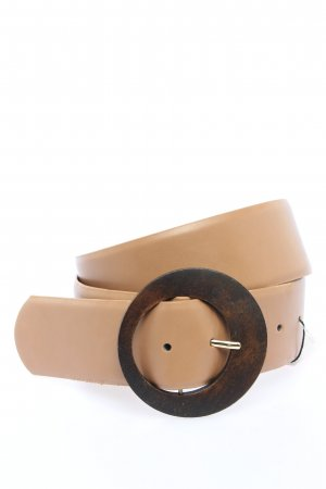 MNG Leather Belt pink-bronze-colored casual look