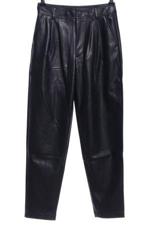 MNG High-Waist Hose schwarz Casual-Look