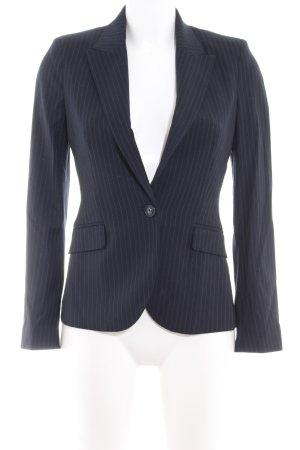 MNG Long-Blazer dunkelblau Business-Look