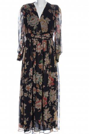 MNG Maxikleid Allover-Druck Casual-Look
