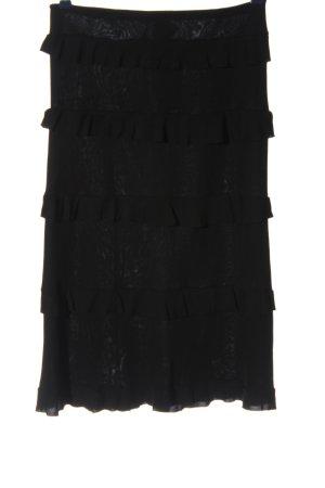 MNG Spódnica midi czarny W stylu casual