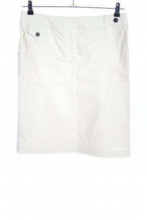MNG Spódnica midi biały W stylu casual