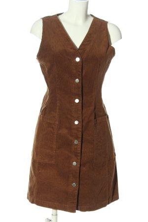 MNG Minikleid braun Casual-Look