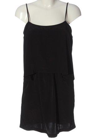 MNG Minikleid schwarz Casual-Look