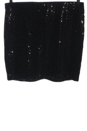 MNG Mini-jupe noir élégant