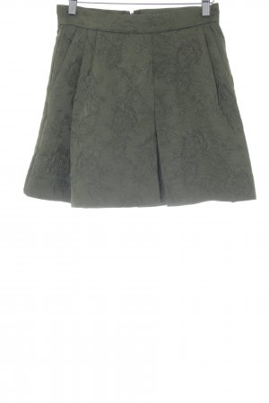 MNG Mini-jupe vert foncé style classique