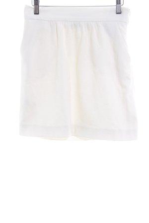 MNG Mini-jupe blanc cassé style décontracté