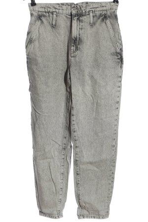 MNG Mom-Jeans hellgrau Casual-Look