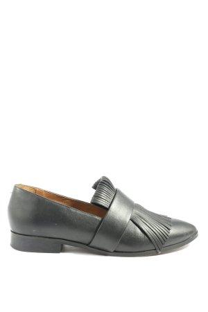 MNG Pantofel czarny W stylu casual