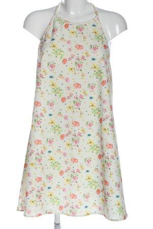 MNG Sukienka z dekoltem typu halter Wzór w kwiaty W stylu casual