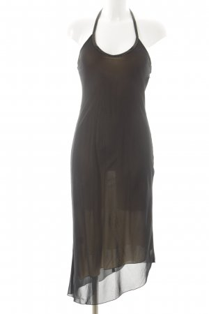 MNG Neckholderkleid schwarz Elegant