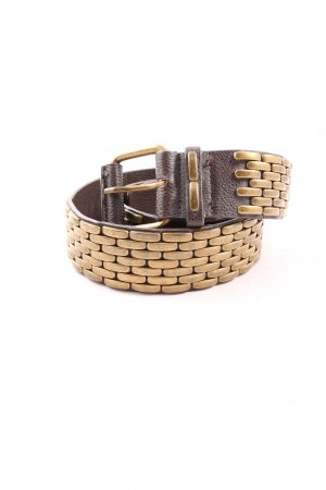 MNG Studded Belt black-bronze-colored casual look