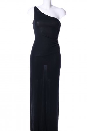 MNG One Shoulder Dress black elegant