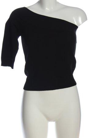 MNG One-Shoulder-Shirt schwarz Casual-Look