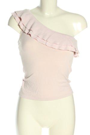 MNG Haut avec une épaule dénudée crème élégant