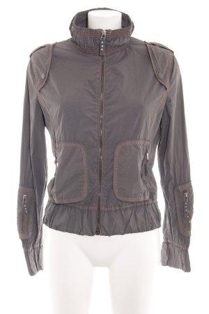 MNG Outdoor Jacket brown casual look