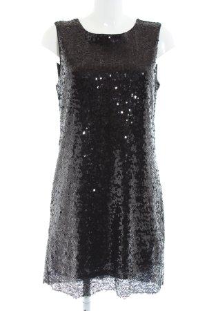 MNG Pailettenkleid schwarz Elegant