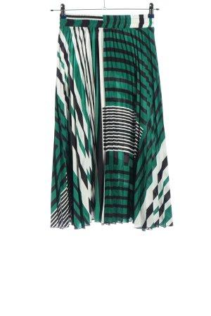 MNG Jupe plissée motif rayé style décontracté