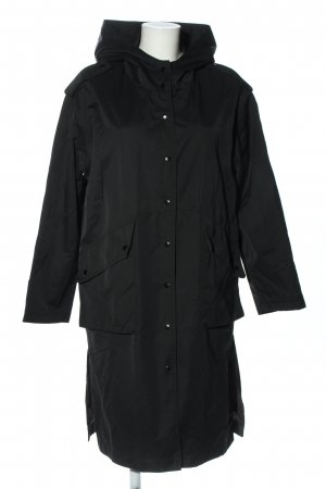 MNG Heavy Raincoat black casual look