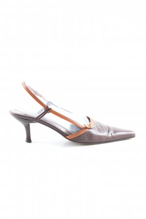 MNG Riemchen-Sandaletten braun Casual-Look