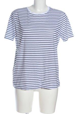 MNG Ringelshirt weiß-schwarz Streifenmuster Casual-Look