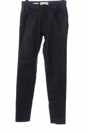 MNG Röhrenhose schwarz Casual-Look