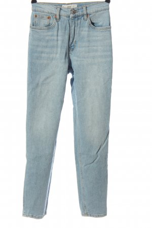 MNG Röhrenjeans blau Casual-Look