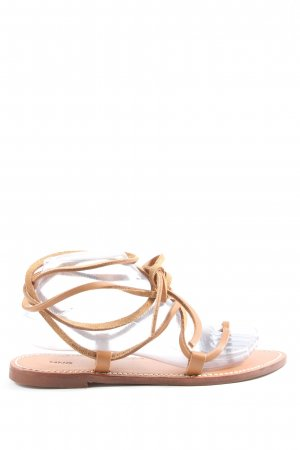 MNG Roman Sandals natural white casual look