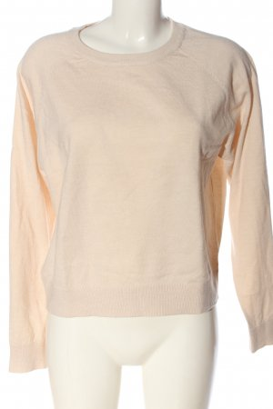 MNG Rundhalspullover creme Casual-Look